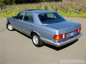1985 Mercedes 380se Purchase Used 1985 Mercedes W126 380se 16 000 Original