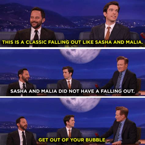 nick kroll conan falling out nick kroll gif by team coco find share on