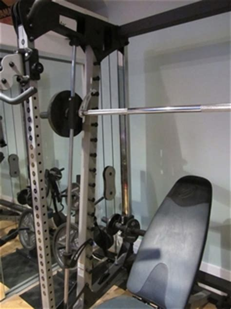 nautilus nt cc3 smith machine with cable crossover auction