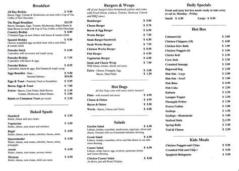 themes new menu style evt 201 assesable blog cafe style menus