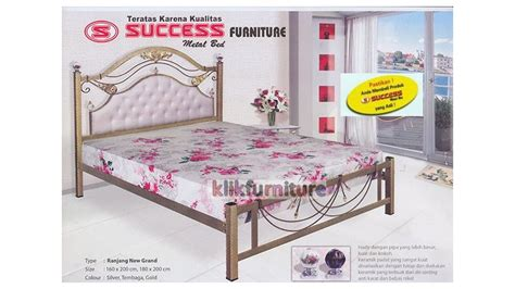 Ranjang Besi Succes harga ranjang besi success new grand