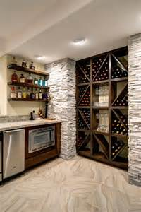 Finished Basement Storage Ideas Basement Wine Storage Transitional Basement Denver By Finished Basement Company