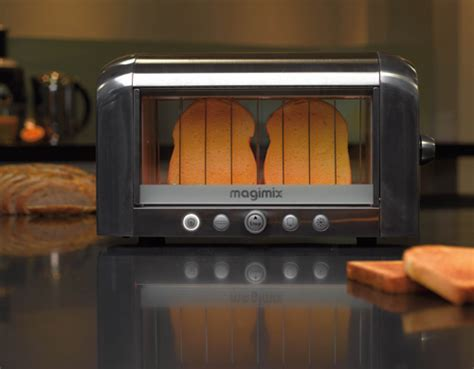 Transparent Toasters See Through Vision Toaster From Magimix Design Milk