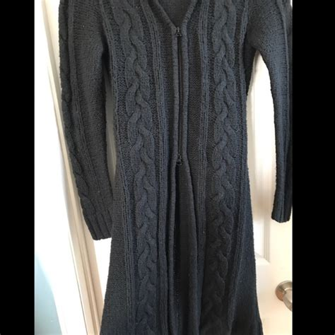 zip up cable knit sweater tilt hooded zip up cable knit sweater s from ashlee