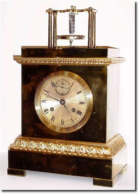 or shelf antique clock