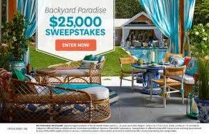 Backyard Paradise 25000 Sweepstakes - better homes gardens backyard paradise win a giveawayus com