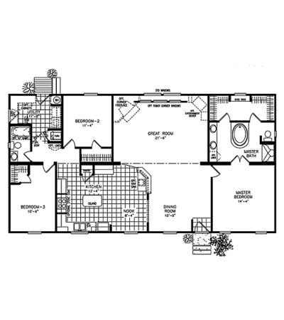 classic 6 floor plan classic ranch 2302 floor plans png for the home pinterest