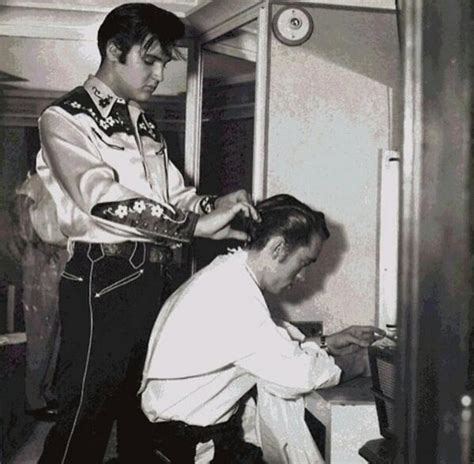 mystic hair salon on elvis presley best barbers on twitter quot and elvis presley cutting james