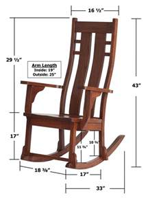 rocking chair measurements search rocking chair