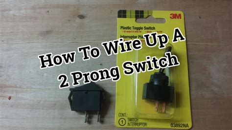 2 prong toggle switch wiring diagram wiring diagram with
