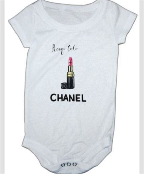 Coco chanel baby lipstick coco chanel onesie baby onesie coco baby latest fashion trends