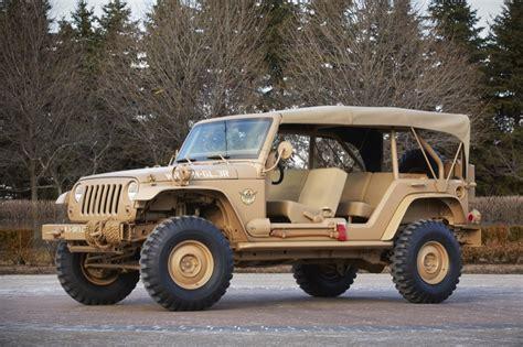 military jeep tan ejs concept jeeps first look jpfreek