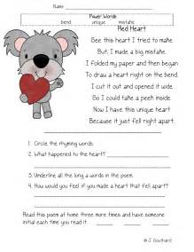 Fluency comprehension amp vocabulary packets fun in first grade
