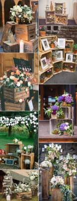 themed wedding decorations best 25 crate decor ideas on rustic apartment