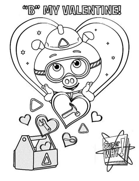 alpha pig coloring page pin alpha pig coloring page printable super why pages pbs