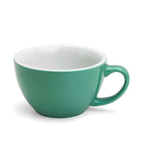 acme 190ml cappuccino cup white horse coffee acme 280ml latte cup white horse coffee