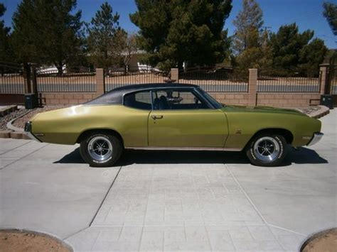 purchase used 1971 buick gs 4 speed with numbers matching