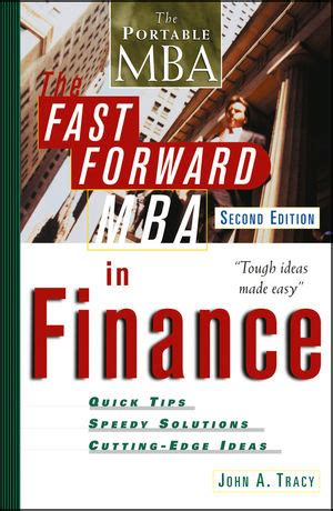 Books On Mba Finance by Wiley The Fast Forward Mba In Finance 2nd Edition