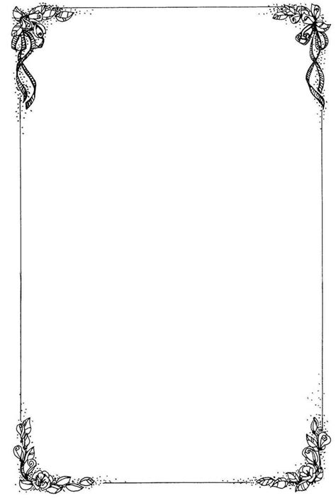 Christmas Letter Border Black And White Graphic Page Borders Page Borders Design Wedding Letter Border Template