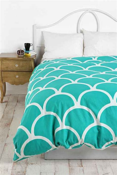 bettdecke snapchat sted scallop duvet cover outfitters