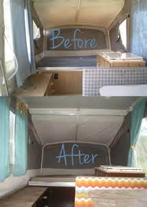 camper renovations quot our camper renovations quot camping in style pinterest