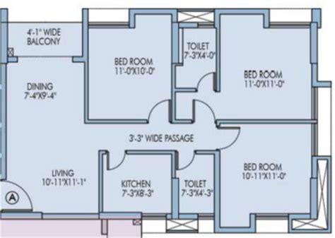 1200 square foot apartment unimark lakewood estate in garia kolkata project