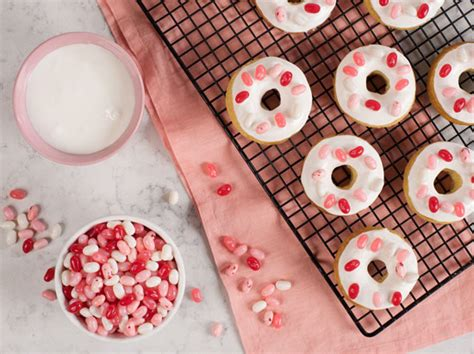 valentines baking baked s day donuts jelly belly company