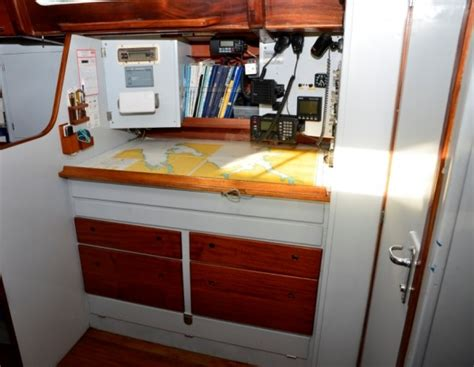 sale dalzell  wooden sailing yacht