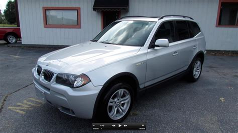 2006 bmw x3 3 0i 2006 bmw x3 3 0i start up exhaust and in depth review