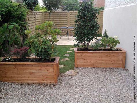 Jardins En Terrasse by Terrasse Jardin Amenagement
