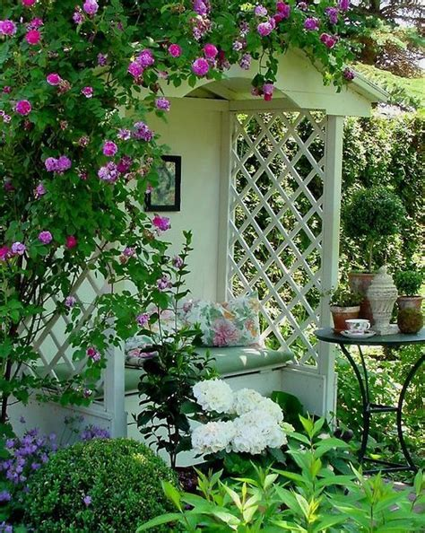 covered garden bench romantic covered garden bench bebe surrounded by