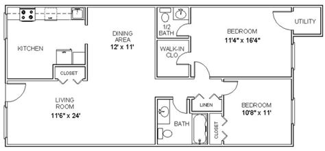 two bedroom two bath apartment floor plans floor plan for two bedroom apartment small home modern