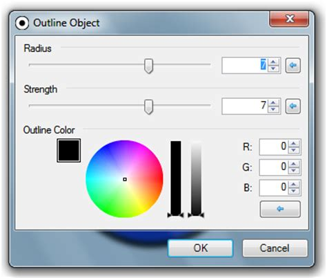 how to use paint net how to outline an object in paint net