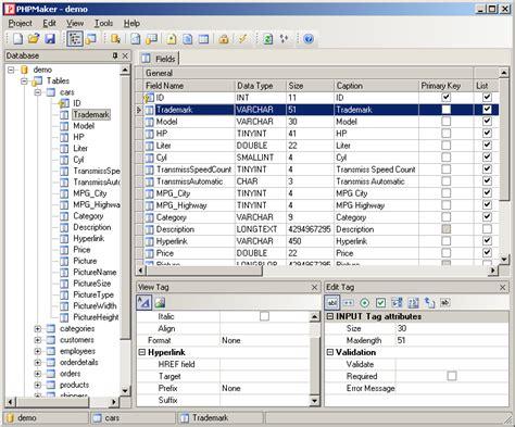 phpmaker tutorial phpmaker tworzenie stron internetowych