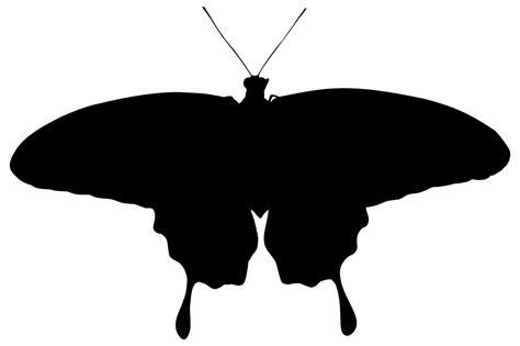 onlinelabels clip art butterfly silhouette