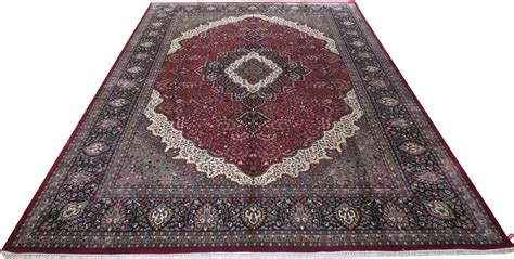 Handmade Rugs For Sale - 9x13 cotton silk design rug kashmir rugs