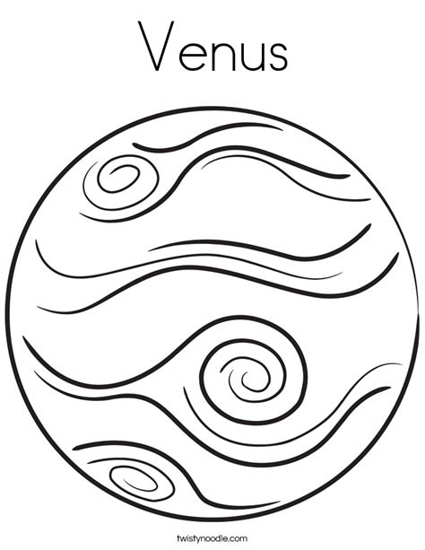 planet coloring page az coloring pages