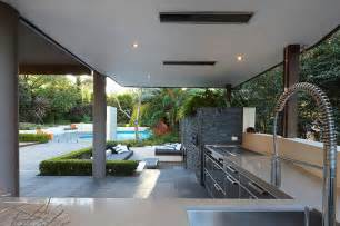 Outdoor Living Areas by Outdoor Living With Sunken Lounge Kitchen Food