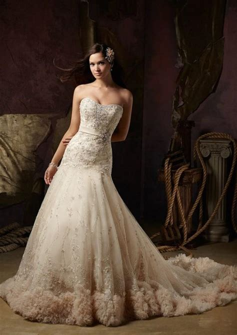 Handmade Bridal Gowns - wedding dress handmade bridal gown lace wedding