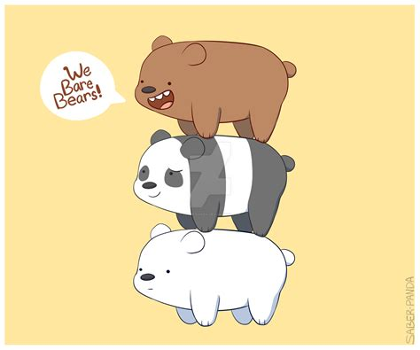 We Bare Bears Baby Iphone All Hp we bare bears by ezpups on deviantart