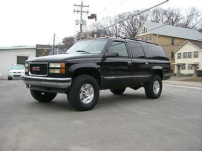 old car manuals online 1996 chevrolet suburban 2500 spare parts catalogs gmc suburban 3 4 ton 2500 series 2500 turbo diesel manual stick shift transmission leather