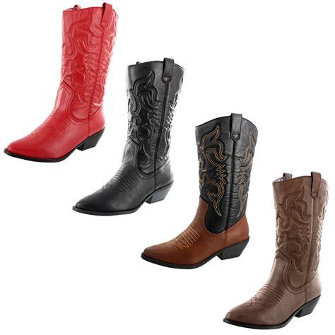 womens soda reno s western boots ebay
