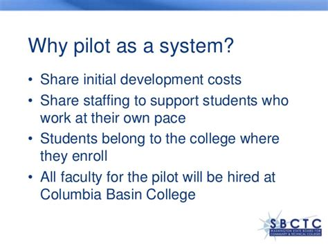 Columbia Mba Grading System by Competency Based Business Degree Pilot Washington