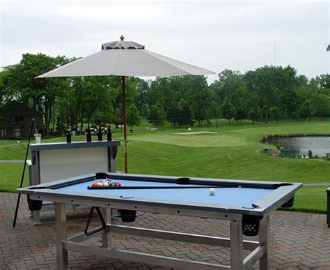 outdoor pool table plans plans diy   diy