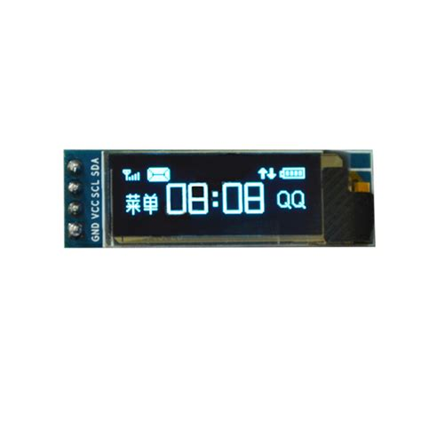 Oled 2828 Color Display Module 0 91 inch 128 215 32 iic i2c blue oled lcd display diy oled module ssd1306 driver ic dc 3 3v 5v for