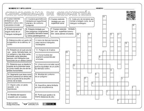 preguntas de cultura general ciencias naturales crucigrama de geometr 237 a actiludis