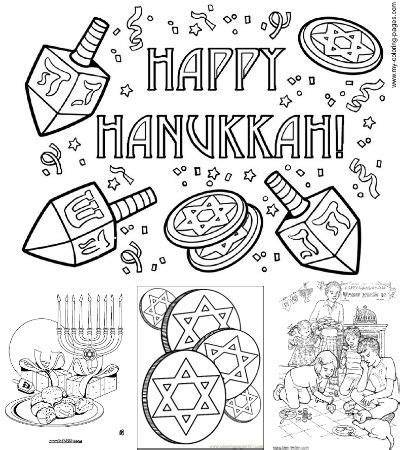 printable hanukkah decorations looking for free printable hanukkah coloring pages look