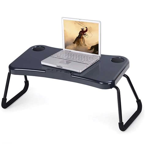 Now You Can Use Your Computer More Comfortable With The Laptop Bed Desk