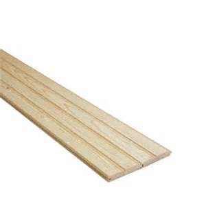 Tongue And Groove Ceiling Boards Shop 1 X 4 X 12 Beaded Ceiling Tongue Groove Board At