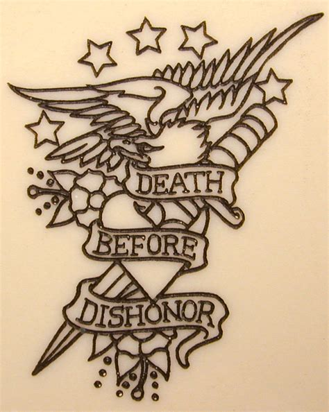 death before dishonor tattoo designs ace spades reaper recon comm